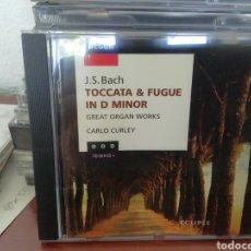 CDs de Música: TOCCATA Y FUGA. BACH. CD.. Lote 213858397