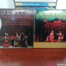 CDs de Música: COLECCIÓN LA ZARZUELA 4 CD. LA VIEJECITA. EL DÚO DE LA AFRICANA. LA REVOLTOSA. GOYESCAS.. Lote 213861646