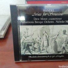 CDs de Música: HANDEL. ARIAS FOR SENESINO. CD. Lote 213865475