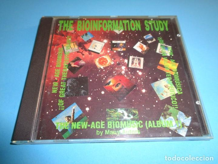 THE BIOINFORMATION STUDY / THE NEW AGE BIOMUSIC ALBUM 1 / CD (Música - CD's New age)