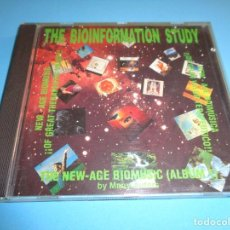 CDs de Música: THE BIOINFORMATION STUDY / THE NEW AGE BIOMUSIC ALBUM 1 / CD. Lote 213880953