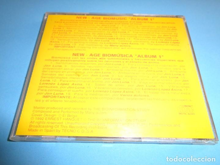 CDs de Música: THE BIOINFORMATION STUDY / THE NEW AGE BIOMUSIC ALBUM 1 / CD - Foto 2 - 213880953
