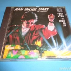 CDs de Música: JEAN MICHEL JARRE / IN CONCERT / HOUSTON LYON / DISQUES DREYFUS / CD. Lote 213881242