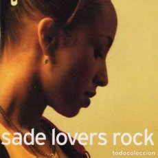 CDs de Música: SADE, LOVERS ROCK, CD 2000. Lote 213886987
