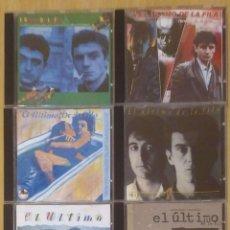CDs de Música: LOTE 6 CD'S EL ULTIMO DE LA FILA - MANOLO GARCIA. Lote 213888961