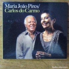 CDs de Música: MARIA JOAO PIRES / CARLOS DO CARMO - 2012 - CD Y DVD - FADO, PORTUGAL. Lote 213890255