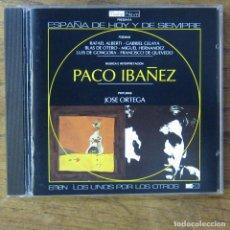 CDs de Música: PACO IBÁÑEZ, 2 - ALBERTI, CELAYA, BLAS DE OTERO, GONGORA, QUEVEDO... - PINTURAS JOSÉ ORTEGA. Lote 213892106