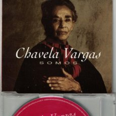 CDs de Musique: CHAVELA VARGAS - SOMOS (CDSINGLE CAJA, WARNER 1996). Lote 213897723