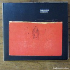 CDs de Música: RADIOHEAD - AMNESIAC - 2001 - DOBLE CD -. Lote 213898027