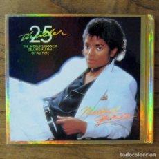 CDs de Música: MICHAEL JACKSON - THRILLER 25 ANIVERSARIO - 2008 - CD Y DVD - QUINCY JONES,. Lote 213898790