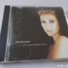 CDs de Música: CELINE DIÓN LET'S TALK ABOUT LOVE. Lote 213906897