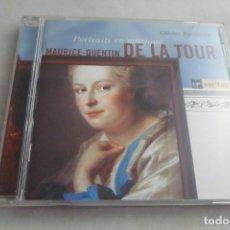 CDs de Música: CD MAURICE-QUENTIN DE LA TOUR. PORTRAITS EN MUSIQUE. OLIVIER BAUMONT. VIRGIN. Lote 213907648