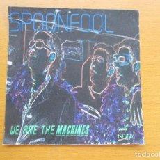 CDs de Música: SPOONFOOL WE ARE THE MACHINES DEMO MAQUETA 6 CANCIONES CON CARTA MANUSCRITA. Lote 213912632