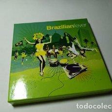 CDs de Música: CD - MUSICA - VARIOUS – BRAZILIAN FEVER - 4 CDS PERO FALTA EL CD 1. Lote 213933175