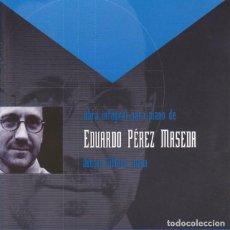 CDs de Música: EDUARDO PEREZ MASEDA - OBRA INTEGRAL PARA PIANO. Lote 213937513