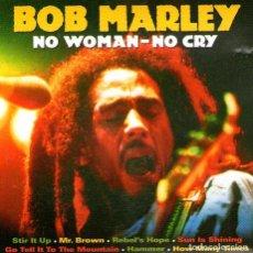 CDs de Música: BOB MARLEY - NO WOMAN-NO CRY - CD DE 16 TRACKS - ED. EUROTREN - AÑO 2005.. Lote 213944800