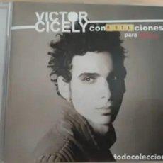 CDs de Música: VICTOR CICELY CON NOTA - CON N.O.T.A CIONES PARA PIANO. Lote 213965643
