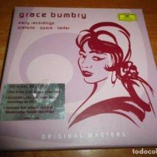 CDs de Música: GRACE BUMBRY EARLY RECORDINGS ORATORIO OPERA LIEDER TRIPLE CD DEUTSCHE GRAMMOPHON BOX SET 3 CD RARO. Lote 213966045