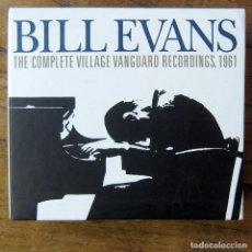 CDs de Música: BILL EVANS - THE COMPLETE VILLAGE VANGUARD RECORDINGS, 1961 - 2005 - 3 CD'S, LIBRETO -. Lote 213966151