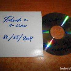 CDs de Música: MCLAN ENTREVISTA RADIO GUADALAJARA 30/5/2004 CD DURACION 5 MINUTOS M CLAN. Lote 213967001