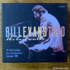 CDs de Música: BILL EVANS TRIO - THE LAST WALTZ - THE FINAL RECORDINGS, LIVE 1980 - 2000 - 8 CD'S, LIBRETO -. Lote 213967448