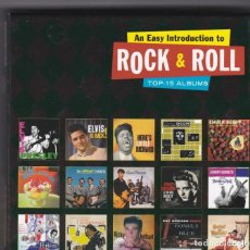 CDs de Música: AN EASY INTRODUCTION TO ROCK AND ROLL - BOX SET CON 15 ALBUMS EN 8 CDS. Lote 64095751
