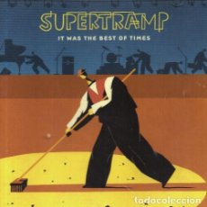 CDs de Música: SUPERTRAMP. IT WAS THE BEST OF TIMES. DOBLE CD.. Lote 213978583