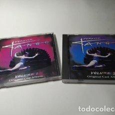 CDs de Música: CD - MUSICA - FOREVER TANGO VOL . 1 - VOL. 2. Lote 213997011