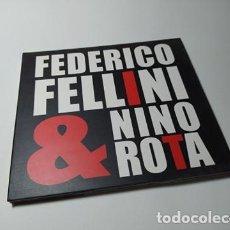 CDs de Musique: CD - MUSICA - NINO ROTA – FEDERICO FELLINI & NINO ROTA. Lote 213998326