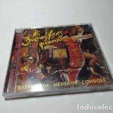 CDs de Música: CD - MUSICA - BARENBOIM, MEDEROS, CONSOLE – MI BUENOS AIRES QUERIDO - TANGOS AMONG FRIENDS. Lote 213998677