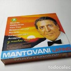 CDs de Música: CD - MUSICA - MANTOVANI - LATINO - 2CDS. Lote 213999020