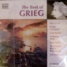CDs de Música: LO MEJOR DE GRIEF PRECINTADO. Lote 214003252
