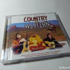CDs de Música: CD - MUSICA - VERY BEST OF COUNTRY & WESTERN. Lote 214014495