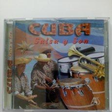 CDs de Música: CD - CUBA, SALSA Y SON. Lote 213986983