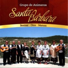 CDs de Música: ANIMEROS DE SANTA BÁRBARA CD (GALDARE, 2009). Lote 231548035