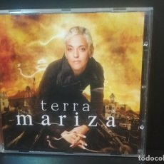 CDs de Música: MARIZA. TERRA. MARIZA DOS REIS NUNES. FADO. PORTUGAL. CD. ALBUM 2008 PEPETO. Lote 214056758