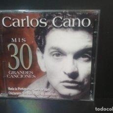 CDs de Música: CARLOS CANO / MIS 30 GRANDES CANCIONES / 2001 SONY MUSIC 2 CD ESPAÑA PEPETO. Lote 214057222