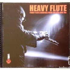 CDs de Música: HEAVY FLUTE.FUNKY FLUTE GROOVES FROM THE 60S AND 70S..VV.AA. Lote 214074785