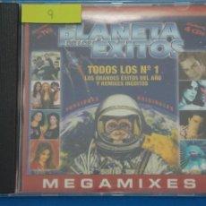 CDs de Música: CD DE PLASTICO EL PLANETA DE LOS EXITOS EL BAILE DEL GORILA AÑO 2001 Nº 9. Lote 214080266