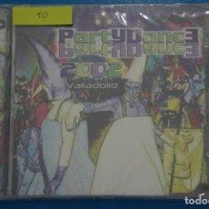 CDs de Música: CD DE PLASTICO PARTY DANCE VALLADOLID AÑO 2002 Nº 10. Lote 214080398