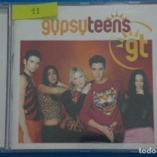CDs de Música: CD DE PLASTICO GYPSY TEENS CLUB TROPICANA AÑO 2001 Nº 11. Lote 214080501