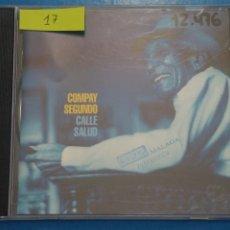 CDs de Música: CD DE PLASTICO COMPAY SEGUNDO CALLE SALUD AÑO 1999 Nº 17. Lote 214081456