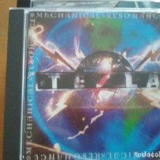 CDs de Música: TESLA MECHANICAL RESONANCE CD. Lote 228181135