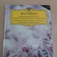 CDs de Música: GRAN SELECCIÓN DEUTSCHE GRAMMOPHON NÚMERO 13 BEETHOVEN. Lote 214085357