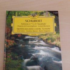 CDs de Música: GRAN SELECCIÓN DEUTSCHE GRAMMOPHON NÚMERO 15 SCHUBERT. Lote 214085732