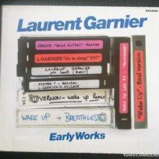 CDs de Musique: RAREZA 2 CD LAURENT GARNIER (CHOICE O DJ PEDRO) EARLY WORKS. Lote 214097696