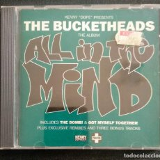 CDs de Música: CD 1995 KENNY DOPE (K-DOPE) THE BUCKETHEADS ALL IN THE MIND THE BOMB, ETC. Lote 214098621
