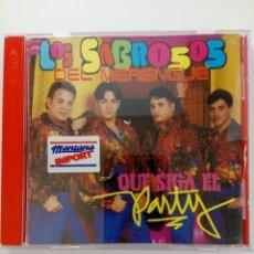 CDs de Musique: CD - LOS SABROSOS DEL MERENGUE - QUE SIGA EL PARTY. Lote 214106235