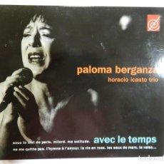 CDs de Música: PALOMA BERGANZA - HORACIO ICASTO TRIO. Lote 214135276