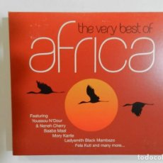 CDs de Música: VARIOS - THE VERY BEST OF AFRICA (CD DOBLE). Lote 214135335